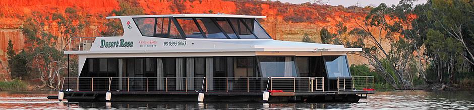 Desert Rose Houseboat Riverland Houseboat Hire River